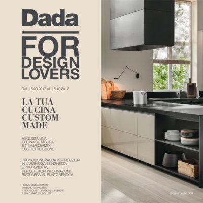Promozione Dada. La tua cucina su misura.
